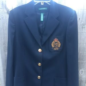 Women's Lauren by Ralph Lauren Navy Blazer